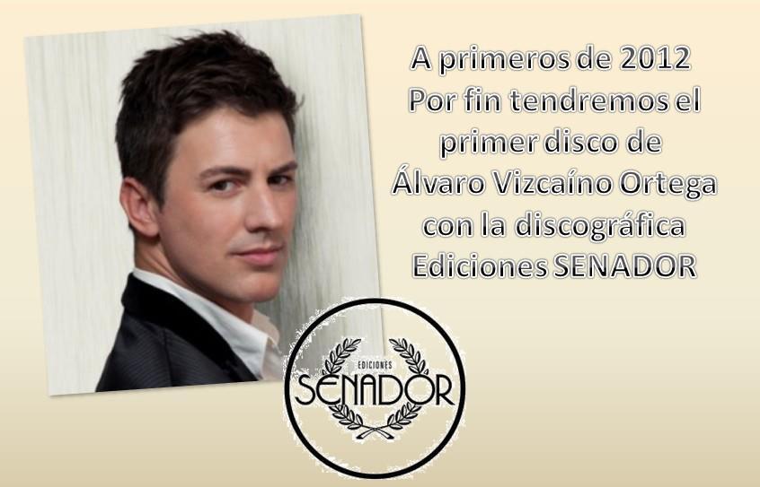 ¡Álvaro Vizcaíno va a sacar disco!