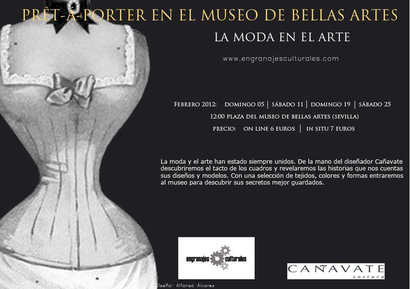Moda y Arte en el Museo de Bellas Artes de Sevilla