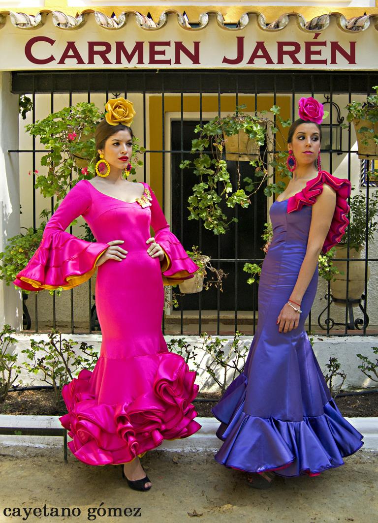 Feria de Abril 2012: La Flamenca de Carmen Jarén
