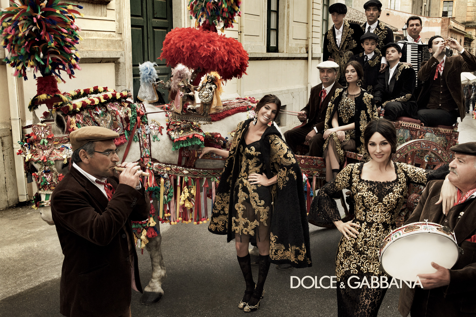 De la Toscana a la Campana: el Barroco de Dolce&Gabbana