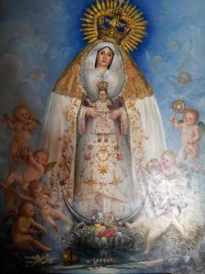 La Virgen del Castillo será coronada hoy en Lebrija