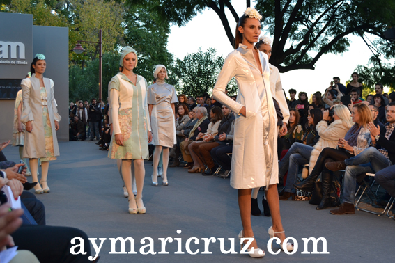 Andalucía de Moda 2012: Marta Galdeano «La vuelta al mundo en 80 días»