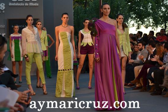 """Andalucía de Moda 2012: Mónica Marín """"Destellos de naturaleza"""""""