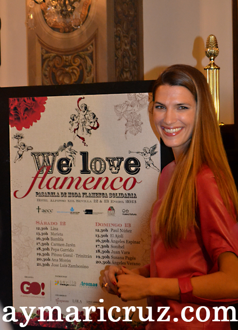 "Presentación de la Pasarela Solidaria ""We Love Flamenco"""