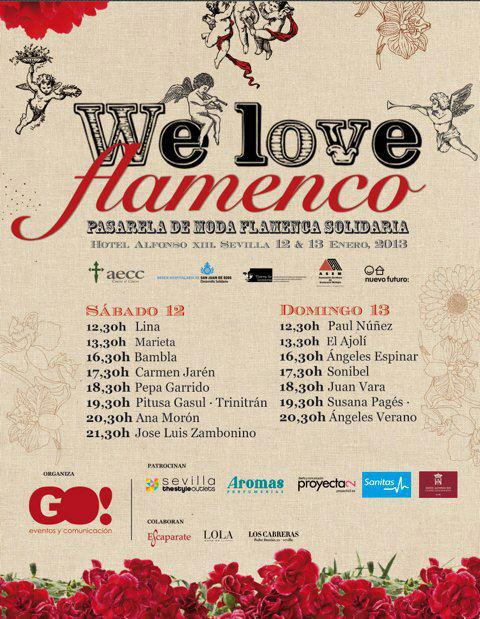 Pasarela We Love Flamenco 2013