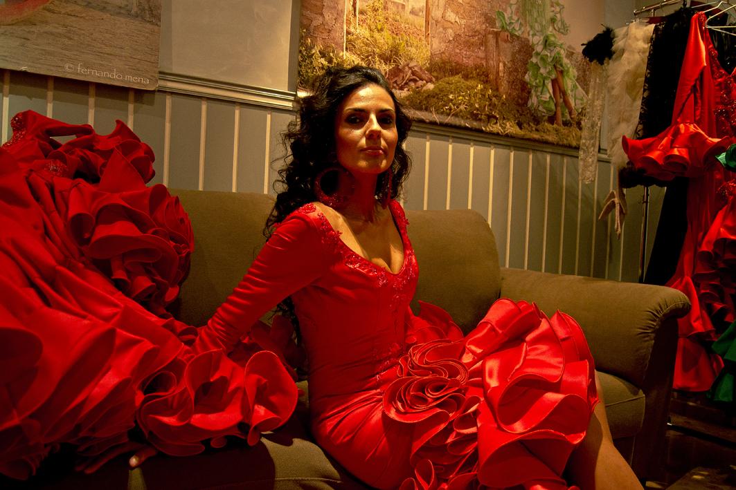 En el Atelier con María José Collantes
