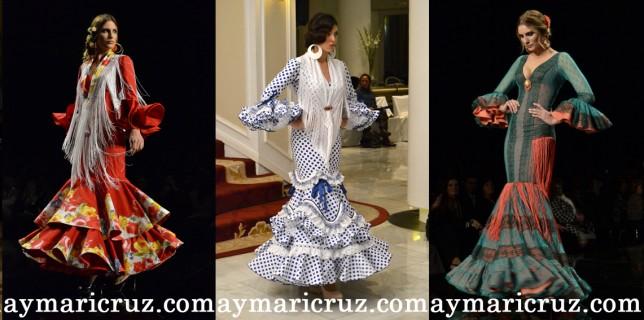 Modelos de Juana Martín, Lina, Cañavate, Loli Vera y Ana Morón
