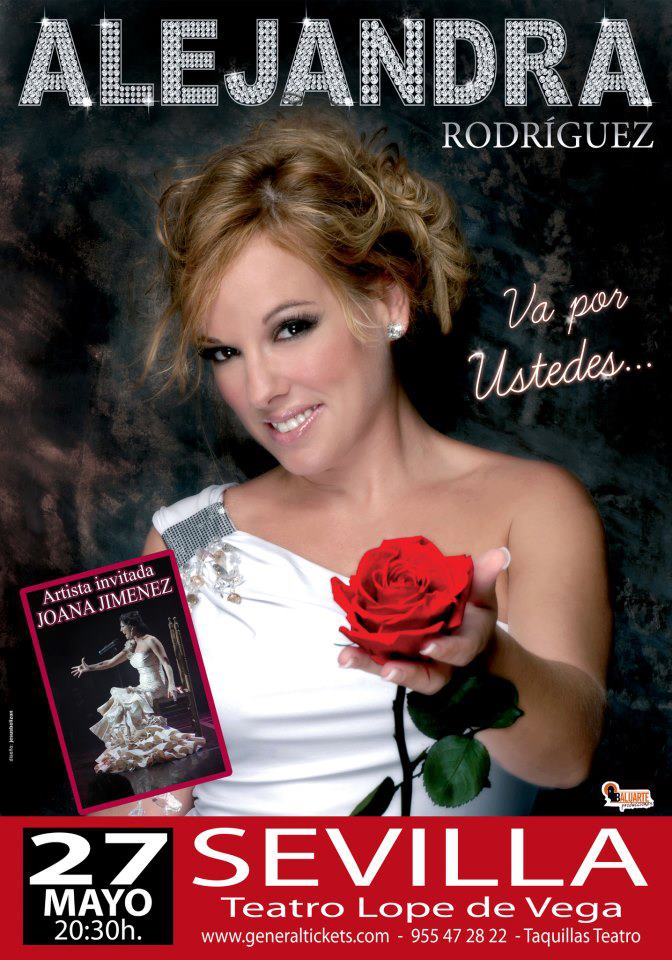 Alejandra Rodríguez presenta su disco en Sevilla