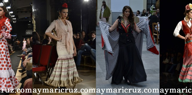 Modelos de Rocío Martín, Carmen Jarén, Amparo Maciá y Rocío Peralta