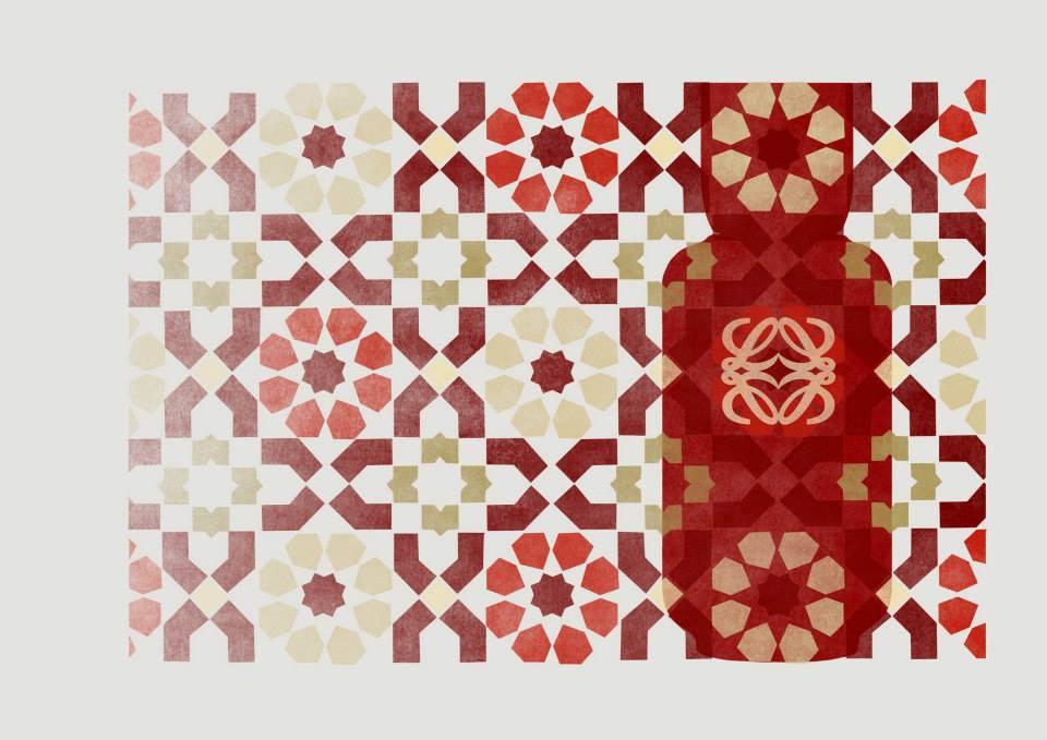 El arte andalusí en las fragancias de Loewe