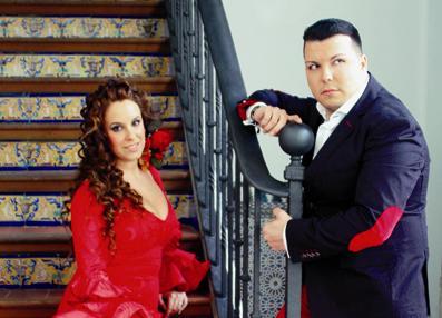 Patricia del Río y Joaquín Pavón en concierto