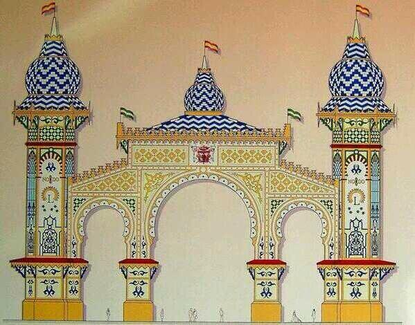 Se presenta la Portada de la Feria de Sevilla de 2014