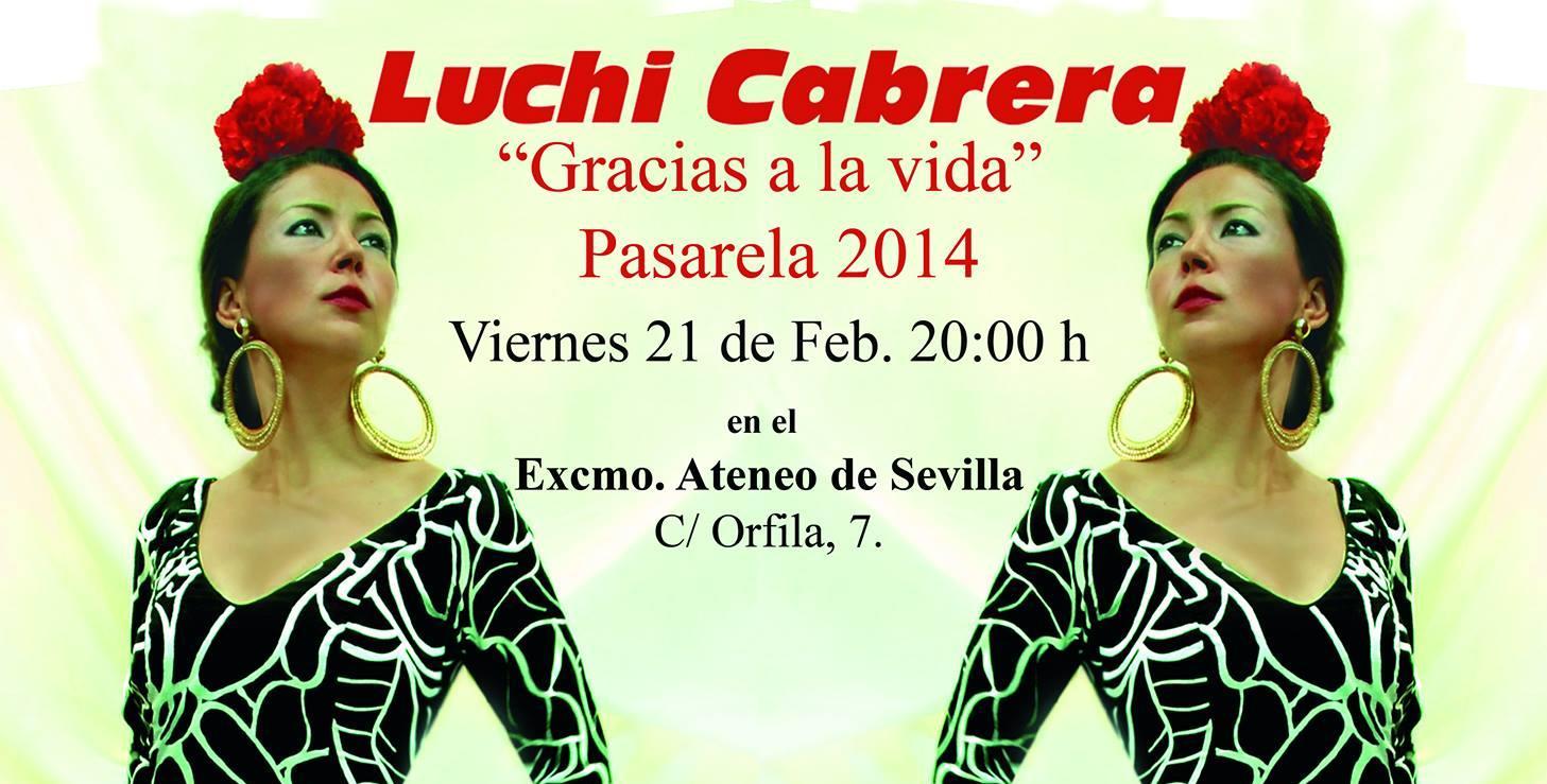 """""""Gracias a la Vida"""", el regreso de Luchi Cabrera"""
