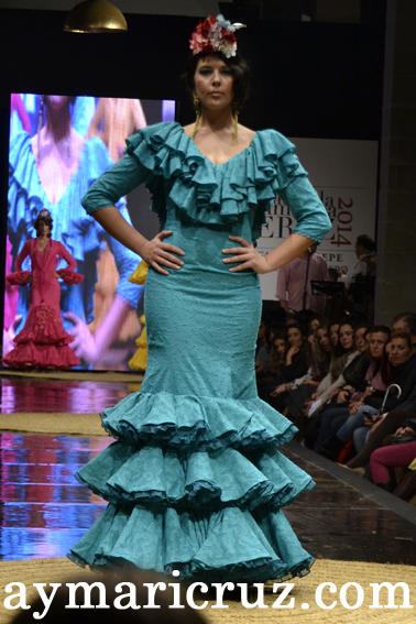 Rocio Martín Pasarela Flamenca 2014 (26)