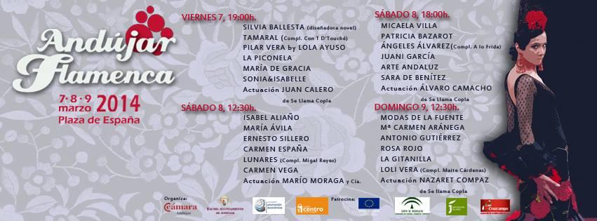 Andújar Flamenca 2014: ¿Qué vamos a ver?