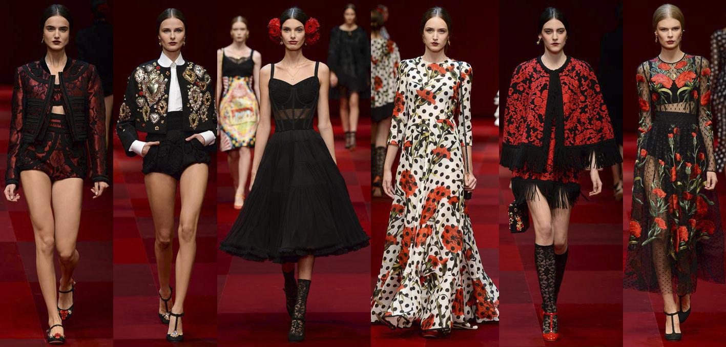 Belleza española, costura italiana: Dolce&Gabbana 2015