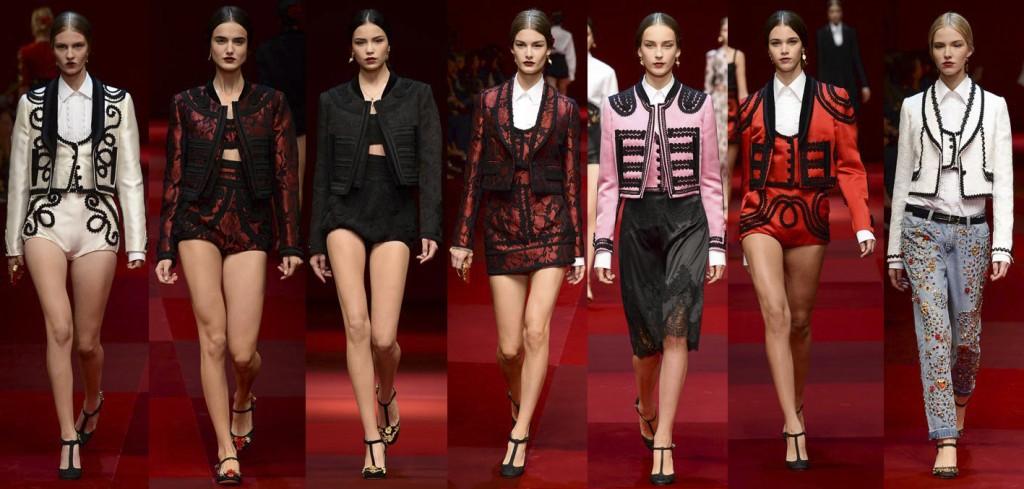 Dolce&Gabbana Primera Verano 2015 Mujer (2)
