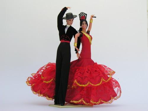 Muñecas Flamencas Marin (8)