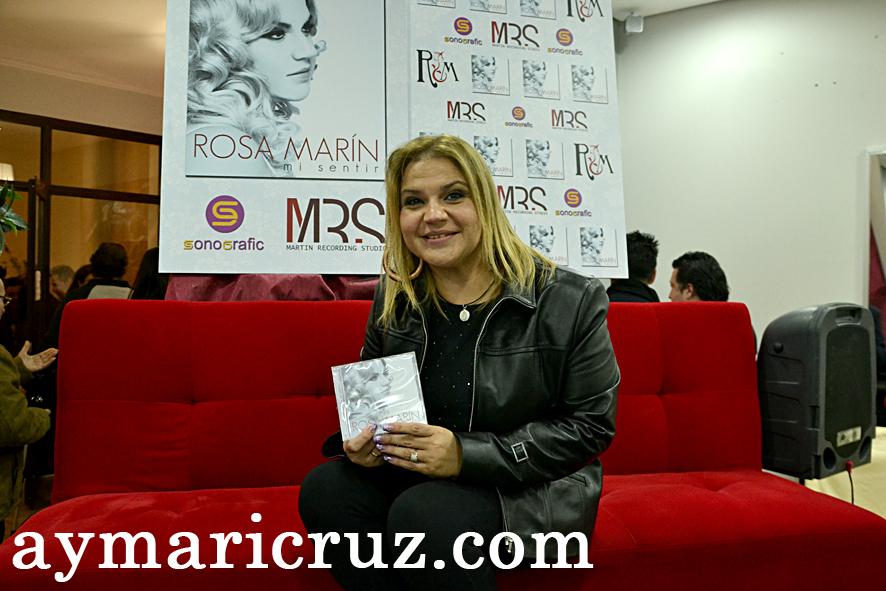 Rosa Marín presentó «Mi Sentir»