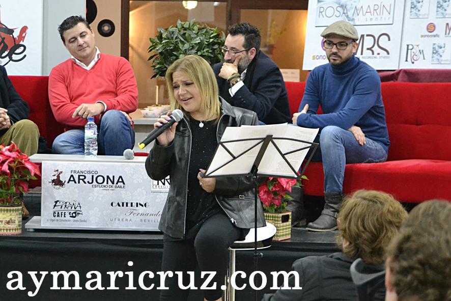 Rosa Marin presenta Mi Sentir disco