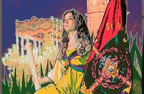 cartel semana santa malaga 2015