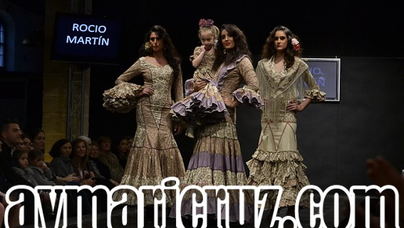 Rocío Martín Pasarela Flamenca Jerez 2015 23