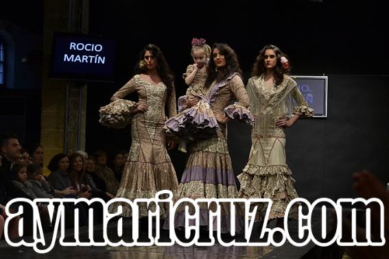 Pasarela Flamenca 2015. Rocío Martín: Lerele