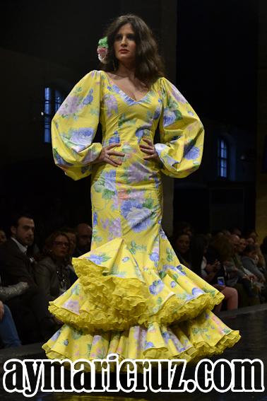 Rocío Martín Pasarela Flamenca Jerez 2015 30