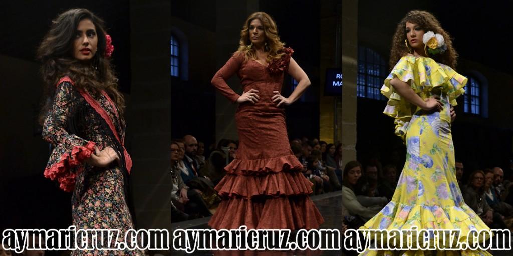 Rocío Martín Pasarela Flamenca Jerez 2015 38