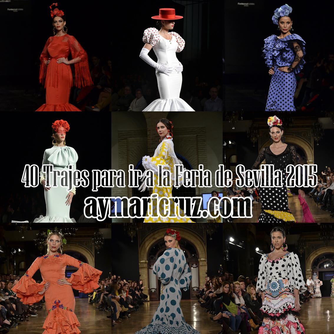 40 trajes para ir a la Feria de Sevilla 2015 (1ª parte)