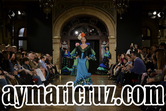 Desfile de Carmen Fitz en We Love Flamenco 2015