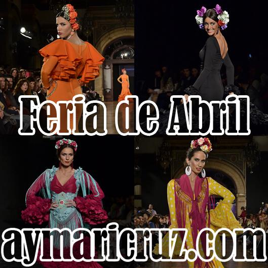 Por una Feria de Abril de mil colores flamencos….
