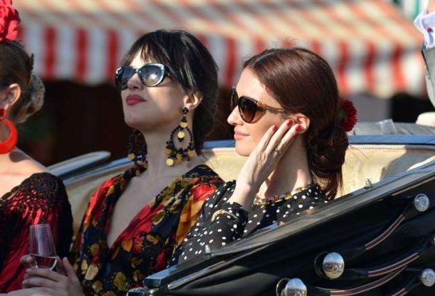 Paz Vega: de las pocas celebrities que ha podido estar en Coachella y en la Feria en el mismo año.