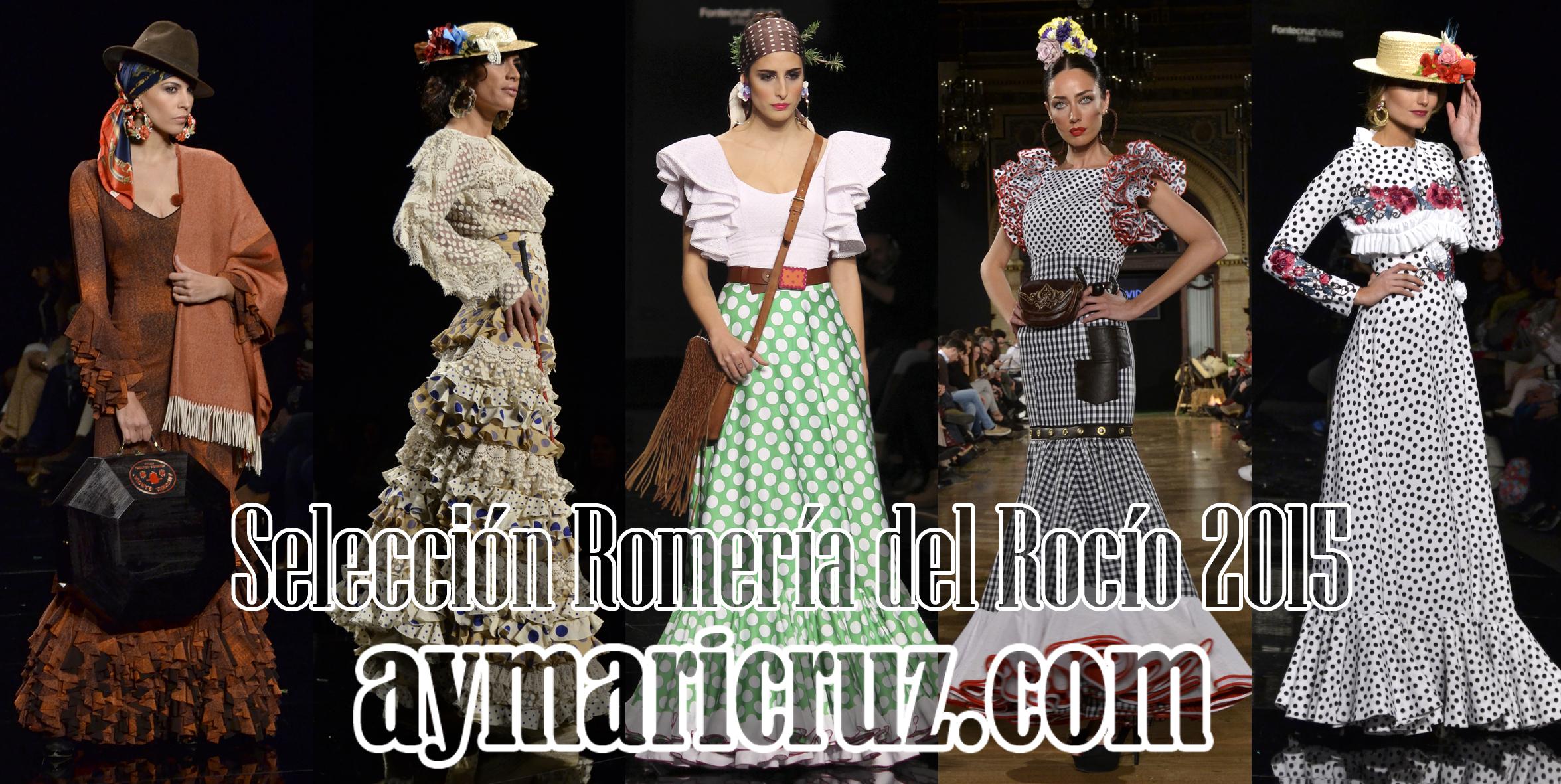 20 trajes para ir a la Romería del Rocío 2015