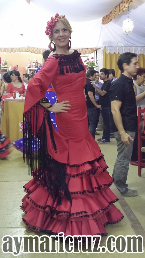 Flamencas Feria de Granada 2015 1