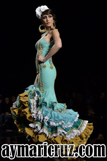 20 Trajes Flamencas de Verano 2015 (10)