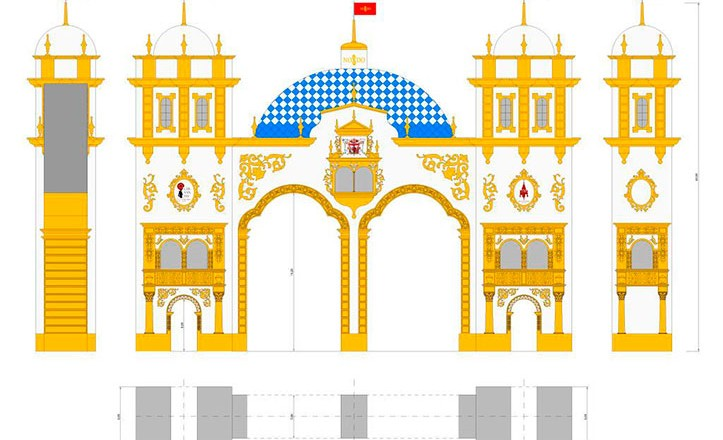 Presentada la Portada de la Feria de Abril 2016