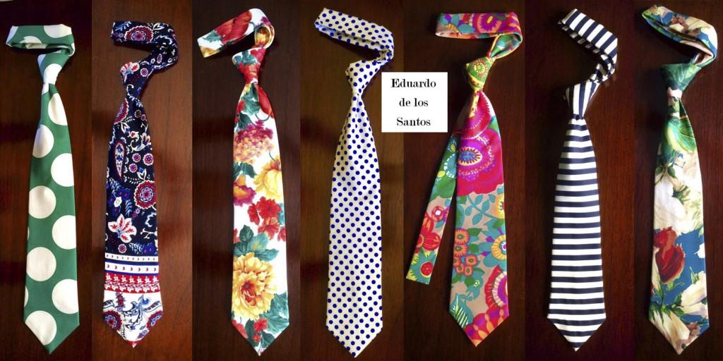 Corbatas Edu de los Santos