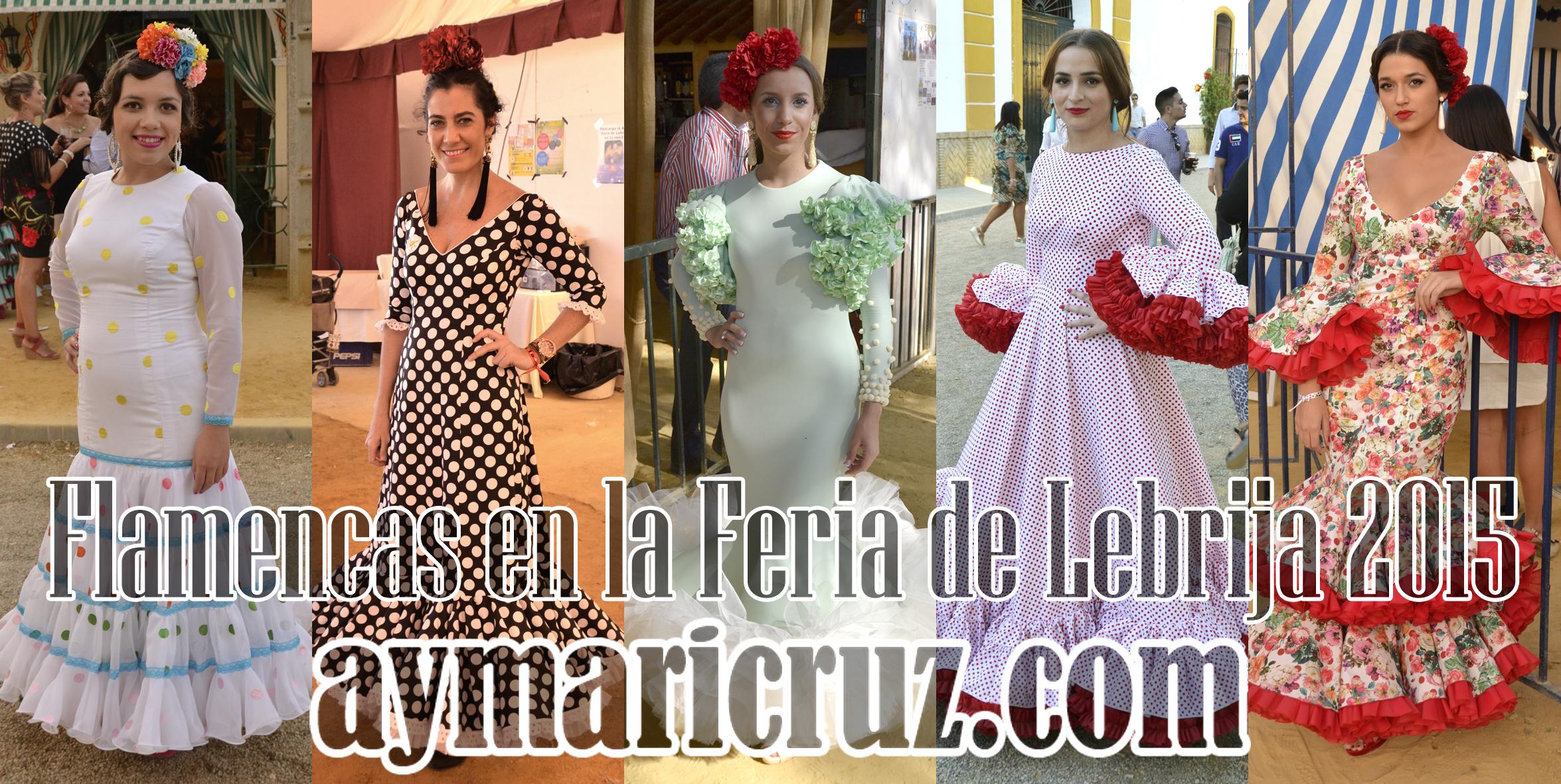 Flamencas en la Feria de Lebrija 2015