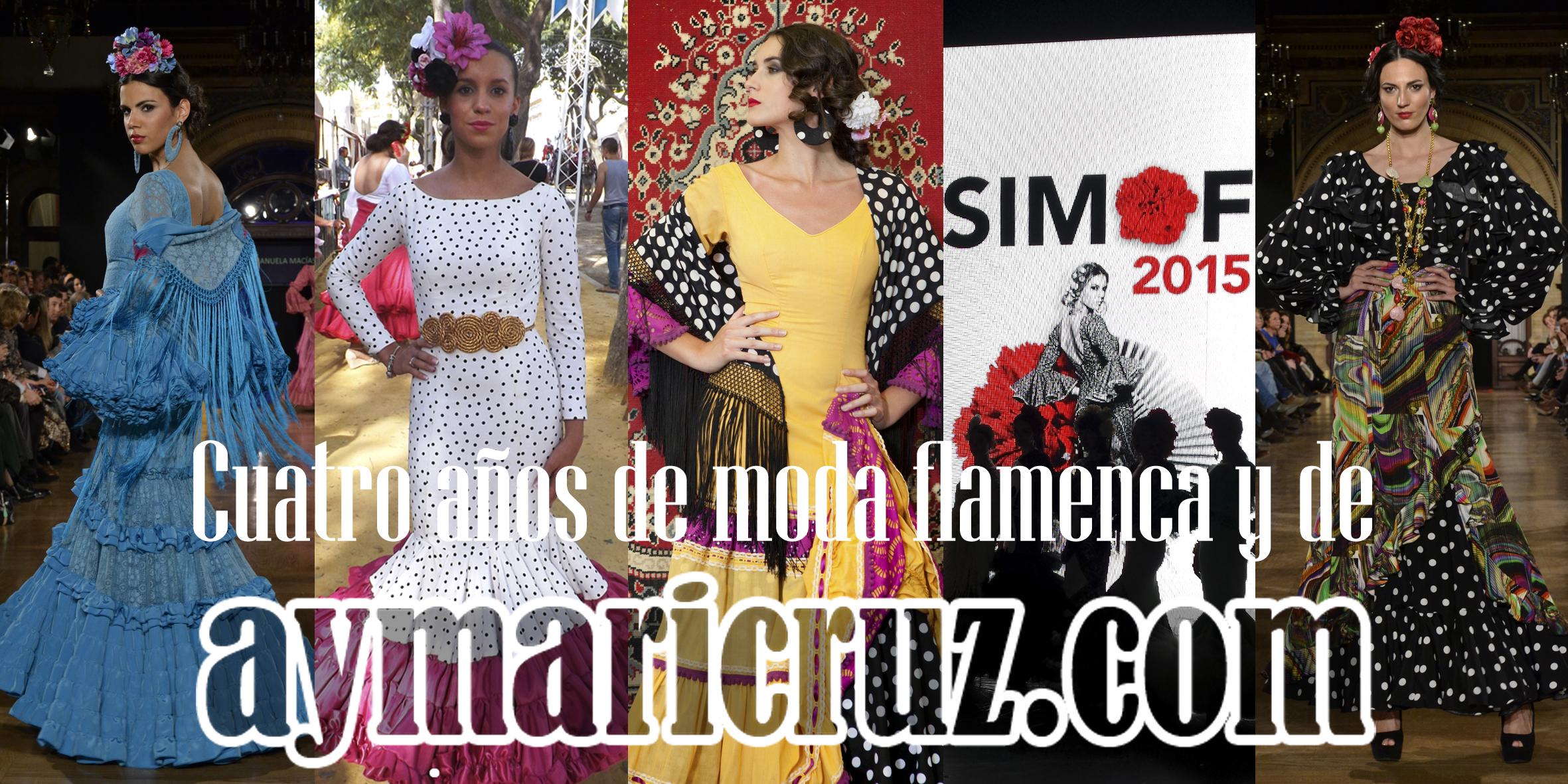 4 años de www.cayecruz.com en 4 apuntes sobre moda flamenca