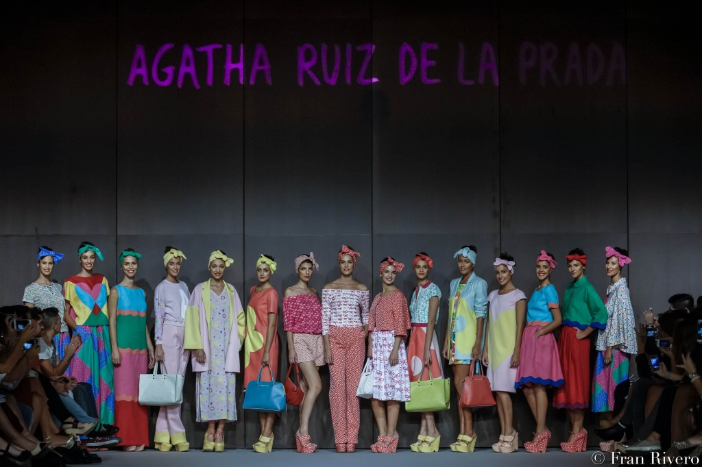 Desfile de Agatha Ruiz de la Prada. Foto: Fran Rivero