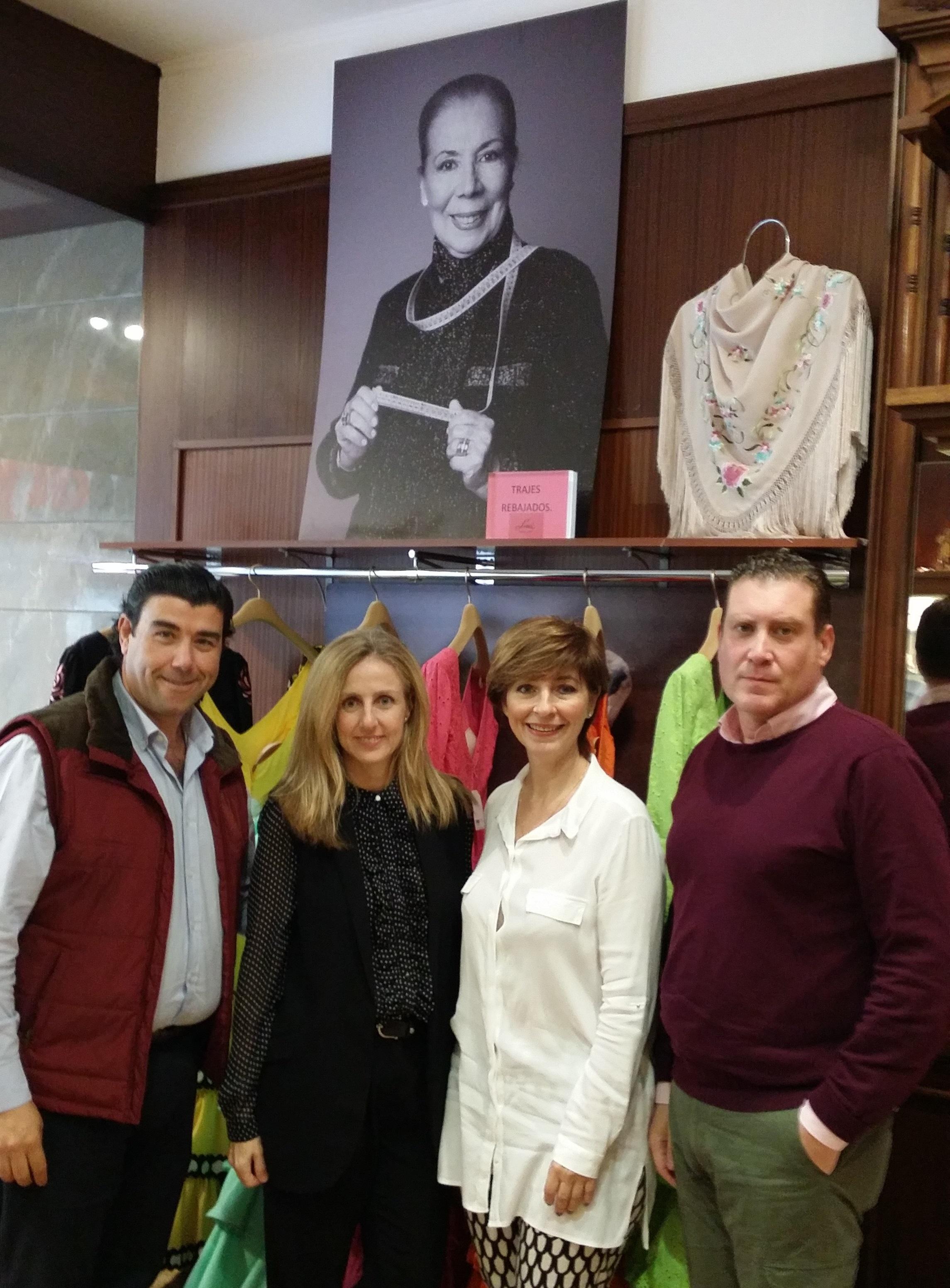 Lina será la madrina de Andújar Flamenca 2016