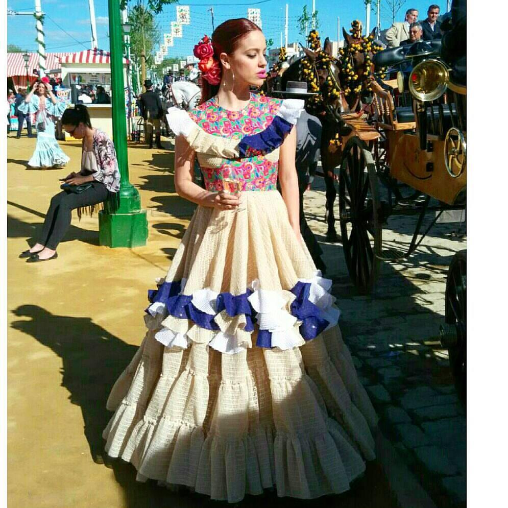 María Ávila en la Feria de Sevilla 2016