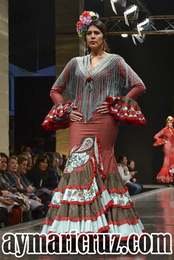 Faly de la Feria al Rocío Pasarela Flamenca de Jerez 2016 1