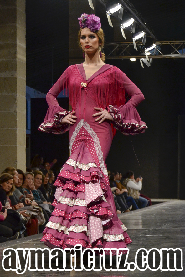 Faly de la Feria al Rocío Pasarela Flamenca de Jerez 2016 29