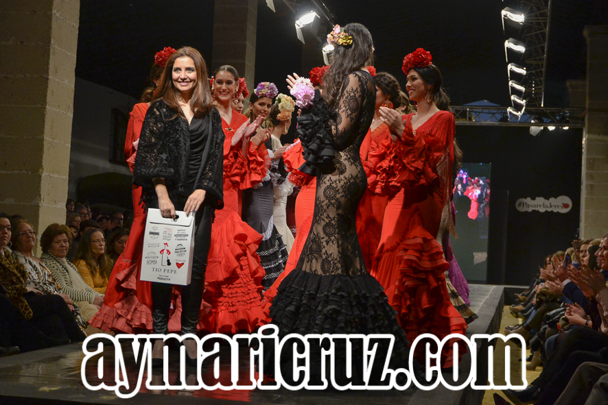 Faly de la Feria al Rocío Pasarela Flamenca de Jerez 2016 4-2