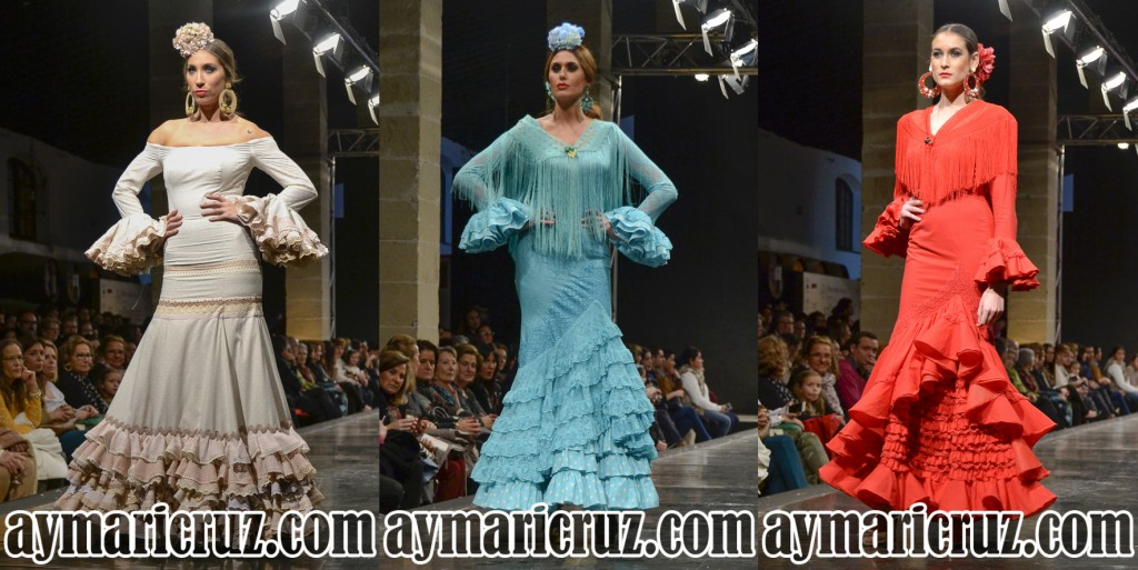 Faly de la Feria al Rocío Pasarela Flamenca de Jerez 2016 44