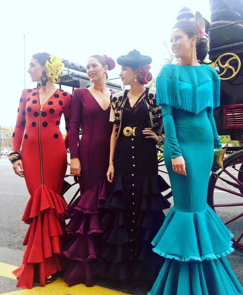 Flamencas en la Feria de Sevilla 2016 (1)