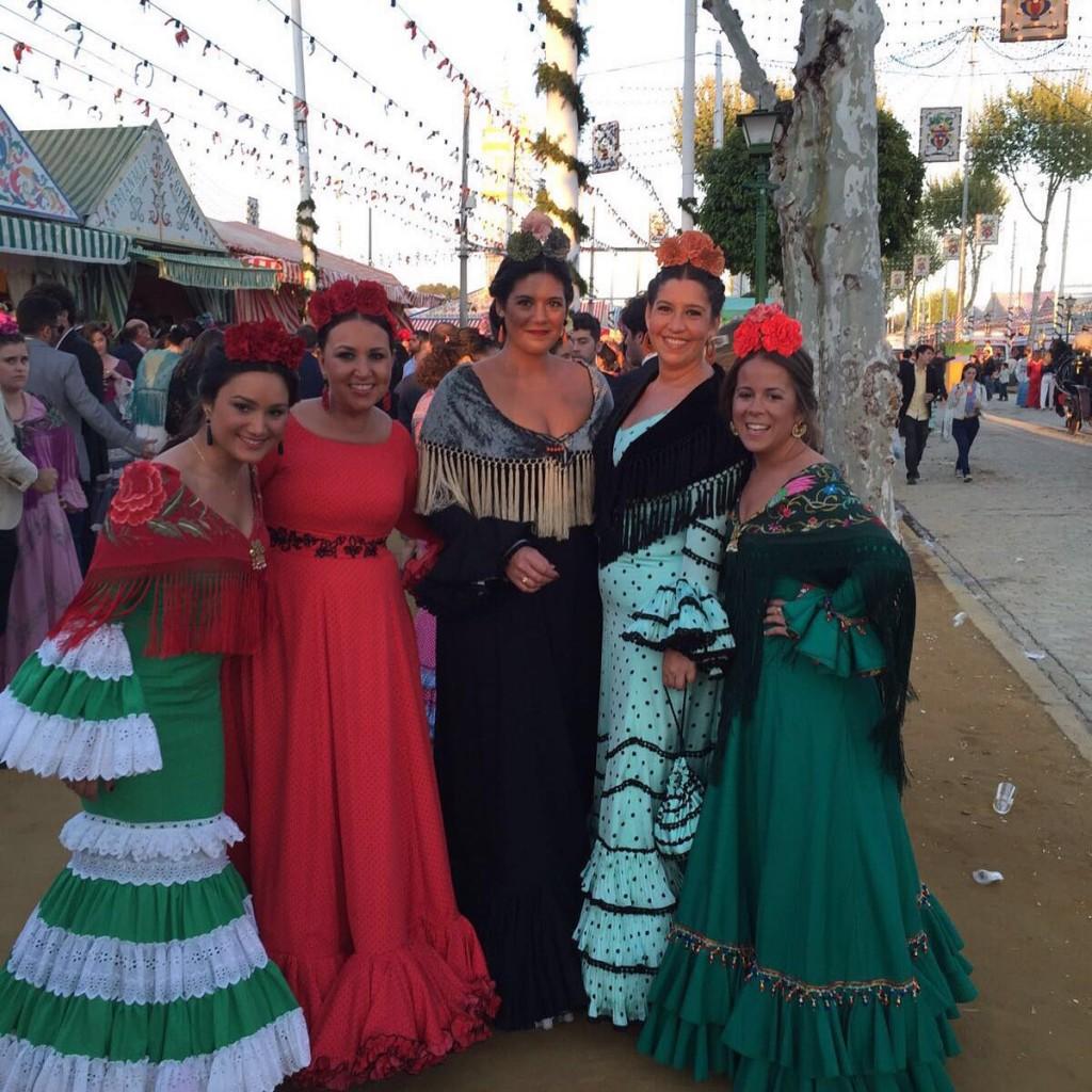 Flamencas en la Feria de Sevilla 2016 (3)