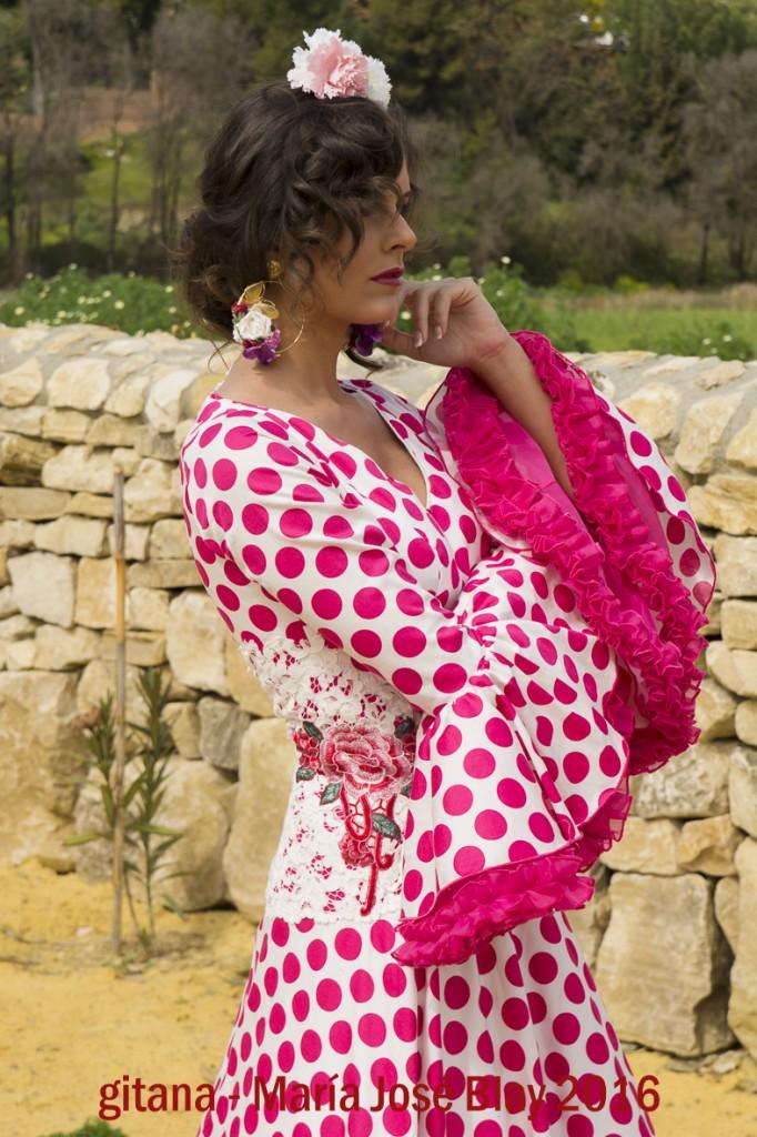 Gitana María José Blay 2016 Moda Flamenca (1)